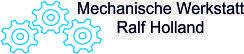 Mechanische Werkstatt Ralf Holland Logo